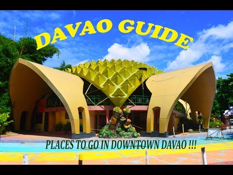 Davao Guide VLOG#1: Places to See In Downtown Davao