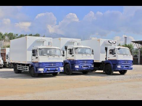 Партия изотермических фургонов с гидробортами и холодильными установками для ОАО СургутНефтеГаз