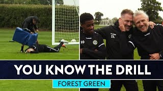 Jimmy Bullard gets a pummelling! | Forest Green Rovers | You Know The Drill