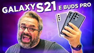 GALAXY S21, S21 PLUS,  S21 ULTRA, BUDS PRO E SMART TAG!