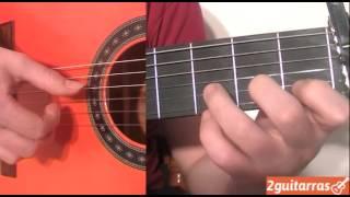 Curso de guitarra - Acordes de Guitarra más utilizados en la guitarra flamenca