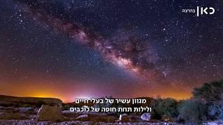 אנשי הלילה של מכתש רמון גאים בהכרה הבינלאומית | מתוך חדשות השבוע 13.10.17