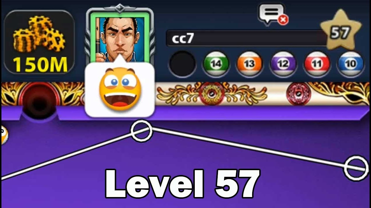 8 ball pool Level 57 On Venice 😈 Do Not Laugh 150M Coins