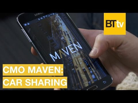 Technology is Changing How We Drive - Maven CMO on Car Sharing | BrandTech TV talks | 5