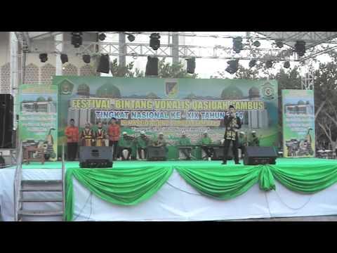 LASQI - JUARA 5 REMAJA PUTRA FESTIVAL BINTANG VOKALIS QASIDAH GAMBUS NASIONAL XIX 2014 PALU SULTENG