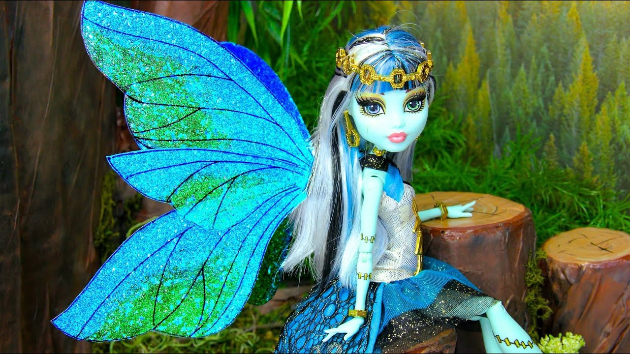 how to make doll fairy wings youtube
