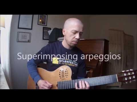 Superimposing arpeggios (Jazz Guitar Lesson 29)