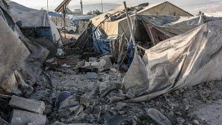 Anschlag auf Flüchtlingslager: Raketenangriff in Syrien fordert 15 Tote