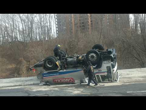 I 83 Tanker Rollover Recovery
