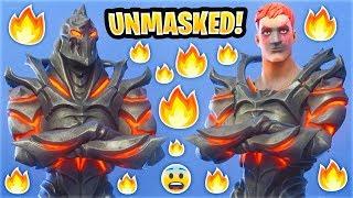 Fortnite Masked Skins Face Reveal..! (Unmasked Ruin)