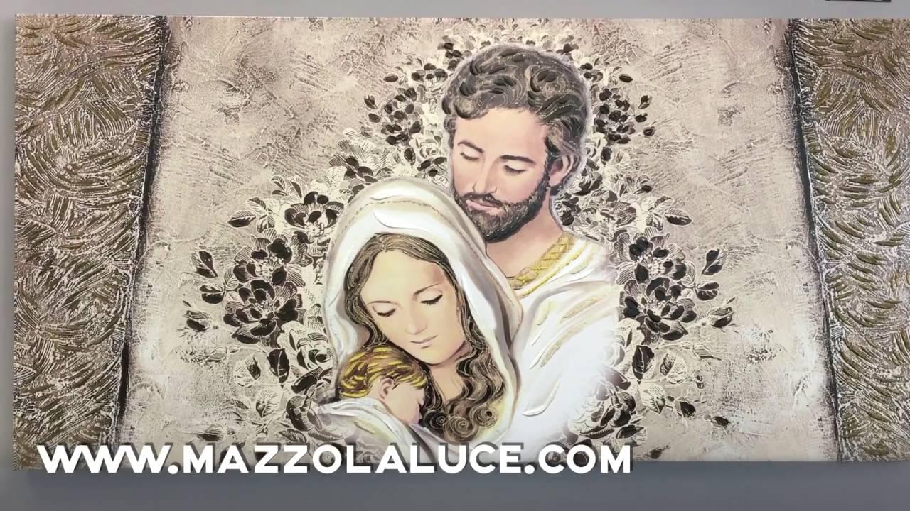 Capezzale sacra famiglia youtube for Quadri sacra famiglia moderni prezzi