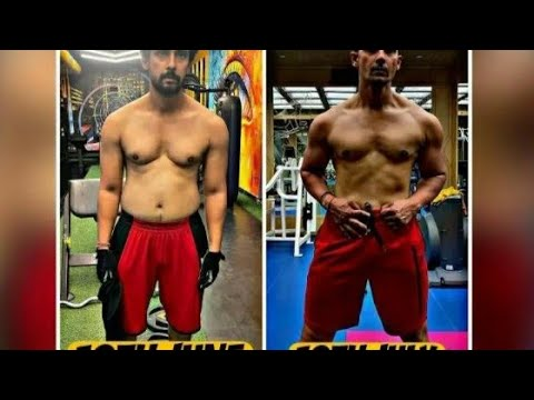 Download Ravi Dubey shares pic of transformation in 1 month, Say 'without protein shakes'