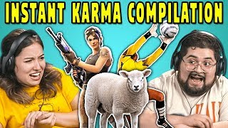 Download College Kids React To INSTANT KARMA Compilation Mp3 and Videos