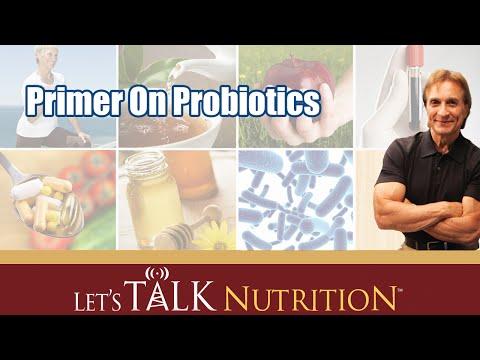 Let's Talk Nutrition: Primer On Probiotics
