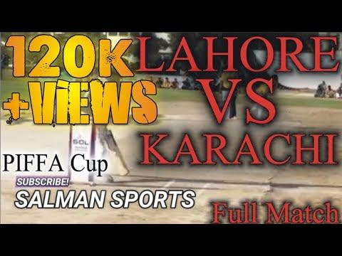 Lahore VS Karachi | Punjab VS Sindh | Tamour Mirza VS Aziz Khandro | Piffa TOURNAMENT |SALMAN SPORTS