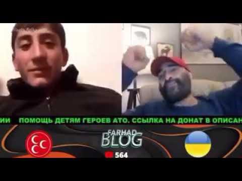 Карабах.Азербайджан и Армения дискуссия в чат рулетке