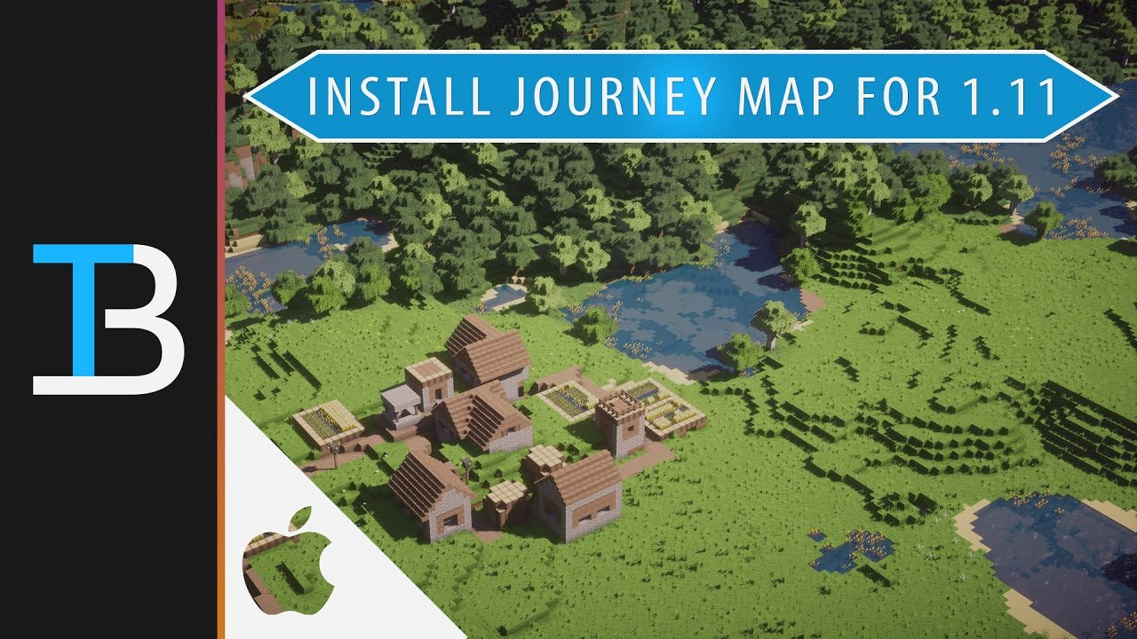 How To Install Journey Map In Minecraft On A Mac Install The - Journey map para minecraft 1 10 2