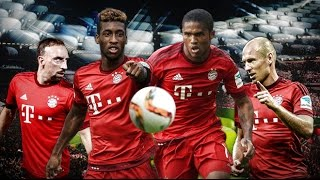 Kingsley coman vs douglas costa 2016 - skills , goals, assists - bayern munich players