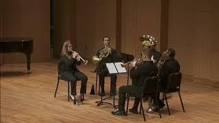 Anthony Plog   4 Sketches for Brass Quintet   I  Allegro