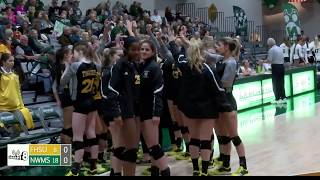 Collegiate Volleyball: Northwest Missouri State Bearcats vs Fort Hays State Tigers