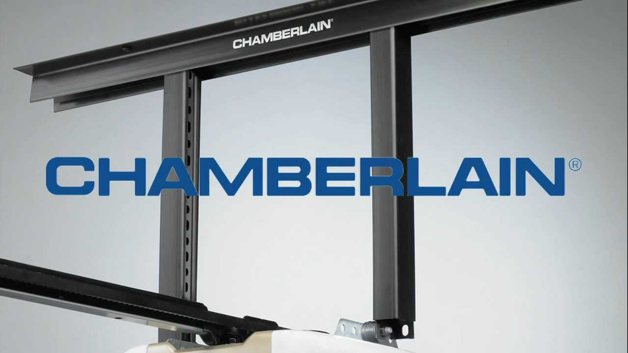 Chamberlain Garage Door Opener Installation Upgrade Kit Youtube