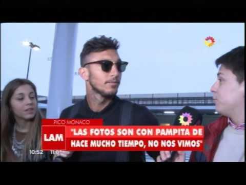 Pico Mónaco se desentendió de su relación con Pampita
