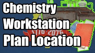Fallout 76 - Chemistry Work Station Plan Location - Where to Find Chemistry Workbench