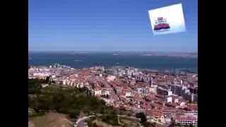 Pelicula, video turistico de Lisboa y Portugal. Hablado en Español, Castellano. Parte 1 de 6.