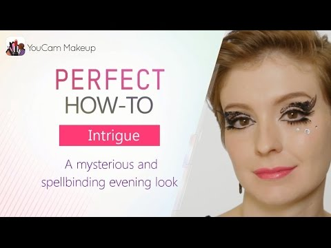 [YouCam Makeup] HOW TO: Create Black Lace `Intrigue` Makeup Look by YouCam  Apps
