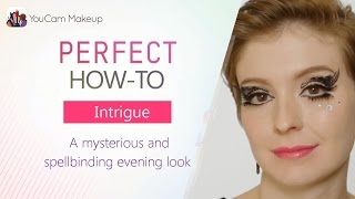 YouCam Makeup] HOW TO: Create Black Lace `Intrigue` Makeup