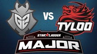 G2 vs TyLoo (Overpass) Highlights - StarLadder Berlin Major