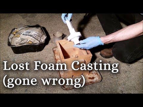 Lost Foam Aluminum Handwheels Casting (gone wrong)