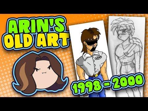 Arin's Old Art: 1998-2000 - Game Grump