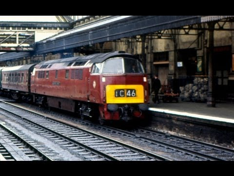 British Railways Diesels & Electric 1960's Western Region