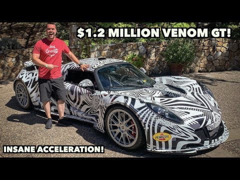 THE HENNESSEY VENOM GT IS INSANE *270MPH*