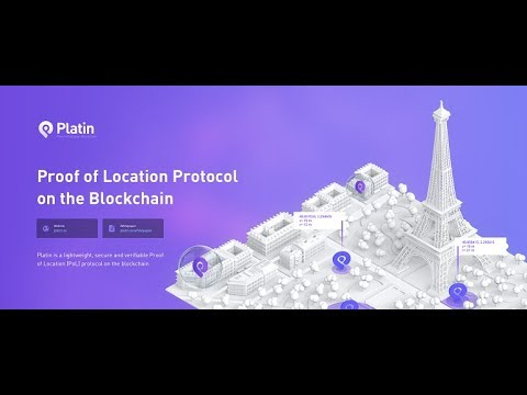 Proof Of Location Protocol On The Blockchain With Platin.io