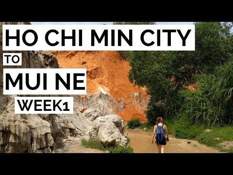 Ho Chi Minh City / Mui Ne // Vietnam Week 1