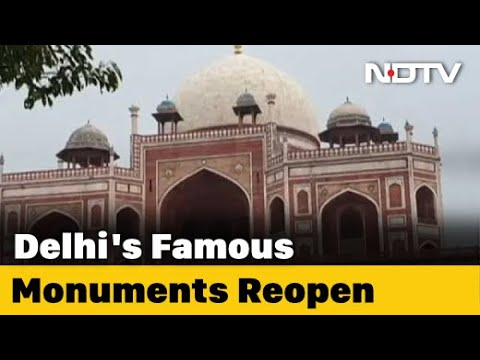 COVID-19 Delhi Update: Delhi Monuments Reopen With Covid Safety Measures, Visitors Steer Clear