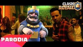 E' PARTITO (Parodia Despacito - Fonsi ft. Daddy) Clash Royale Song Video