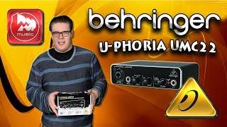 BEHRINGER UMC22 -доступна звукова карта з фантомним живленням