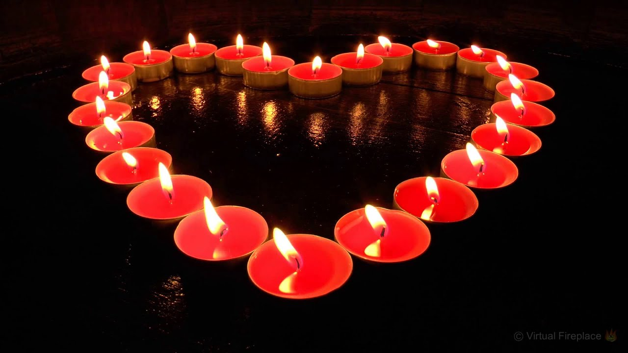 Virtual Candles Heart Shaped Valentines Edition Full HD  YouTube