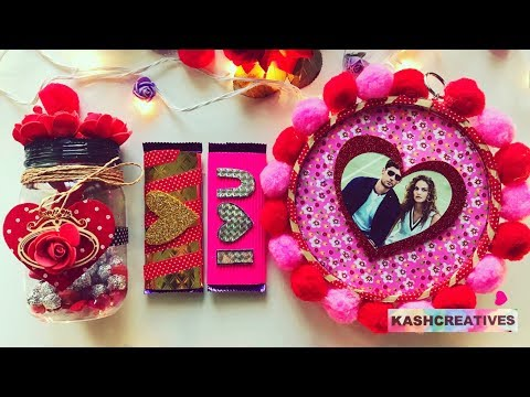 DIY GIFT Ideas For Valentine's Day | Last Minute Ideas (Easy + Quick) | Kash Creatives