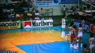 1987 Hills Bros vs RP Team (2nd Qrt)
