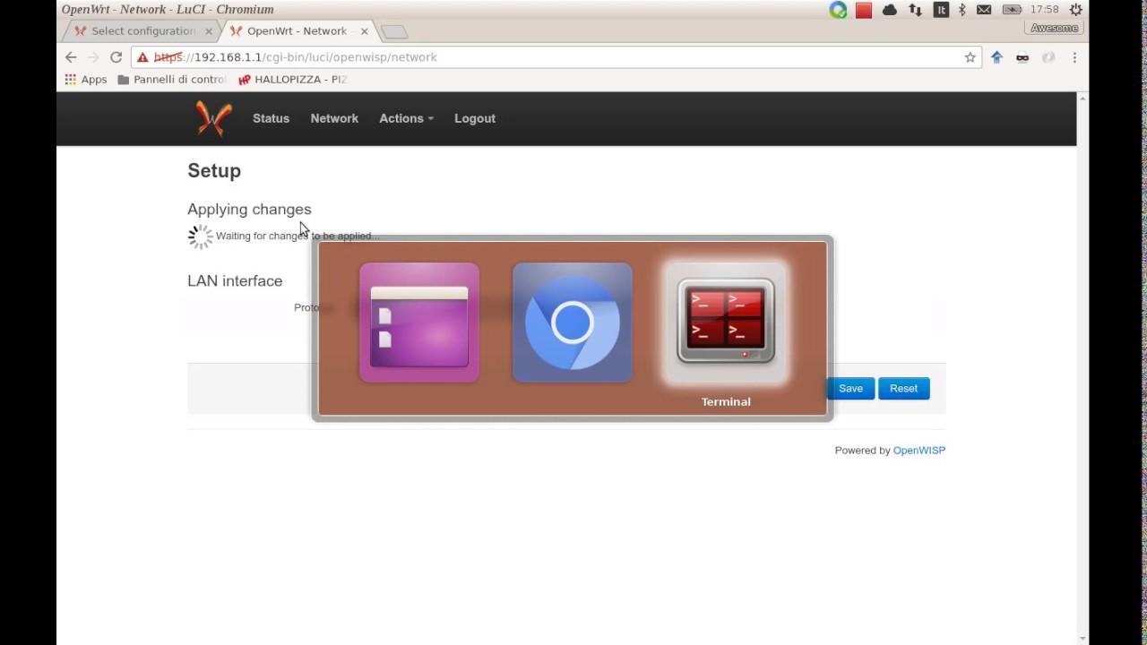 OpenWISP: OpenWRT Controller, public wifi, RADIUS, mesh networks
