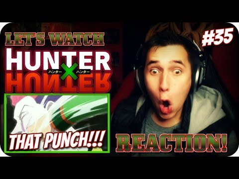 GON VS HISOKA! *THE FIGHT OF THIS ARC*| LET'S WATCH Hunter x Hunter Episode 35 REACTION!!