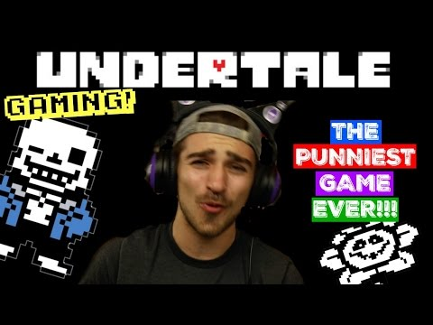 UNDERTALE - The PUNNIEST Game EVER pt. 1 - GAMING - Boston Tom