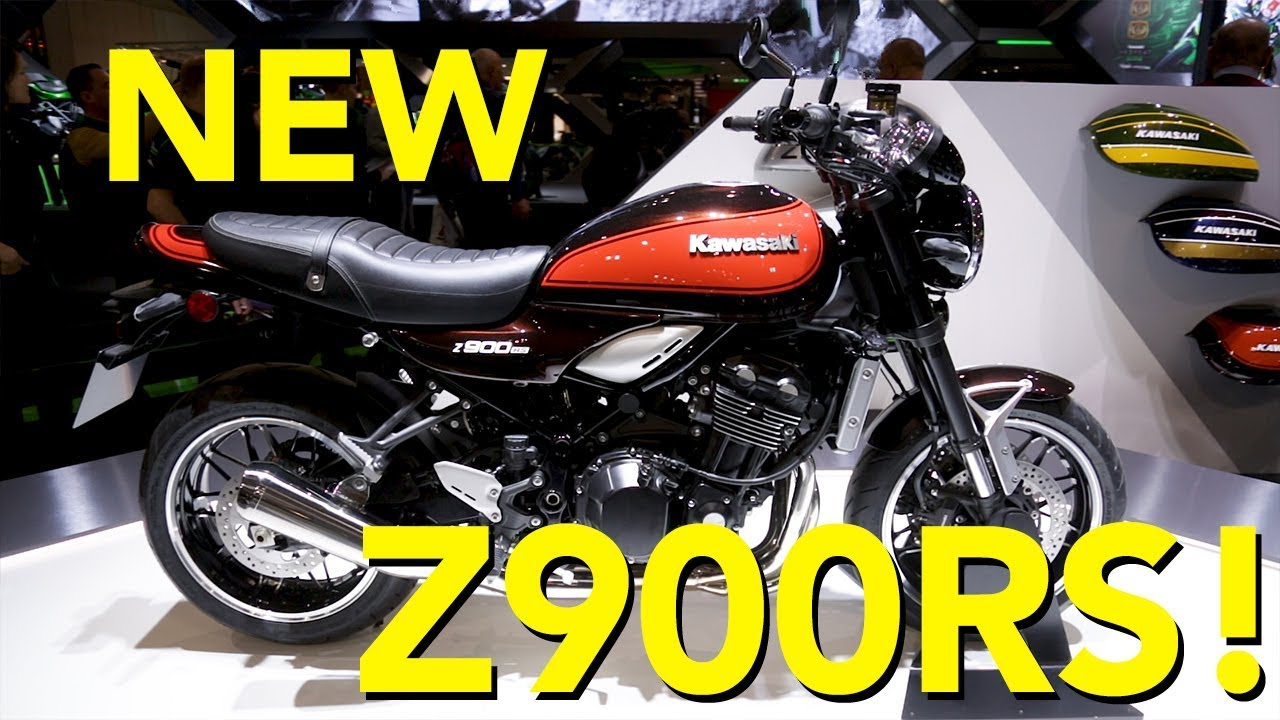 2018 kawasaki z900rs and z900 rs cafe first look youtube. Black Bedroom Furniture Sets. Home Design Ideas