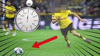REKORD: Der schnellste Bundesliga-Spieler ist _________