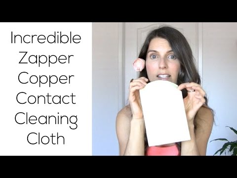 Incredible Zapper Copper Contact Cleaning Cloth