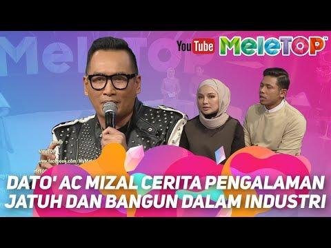 Dato' AC Mizal cerita pengalaman jatuh dan bangun dalam industri